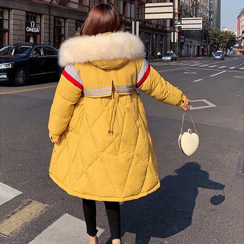 Yellow Parka Womens