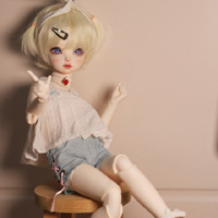 1/6 bjd doll sd doll baby girl 1 / 6 bjd makeup to send a full set of baby