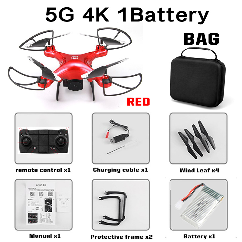 2020 New GPS Drone SH4 Camera HD 4K 1080P 5G Wifi FPV Professional Quadcopter RC Dron Helicopter Toy For Kids VS SG907
