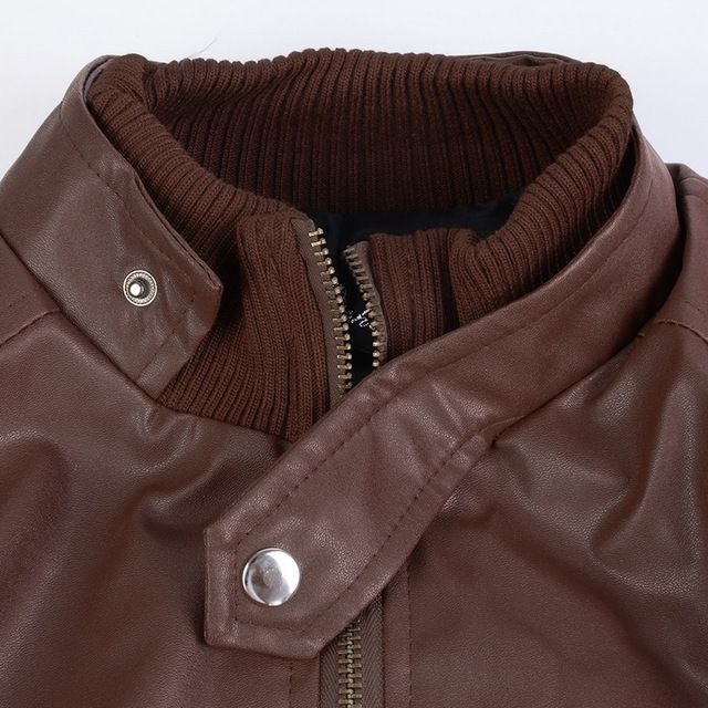 Brown Leather Jacket 5
