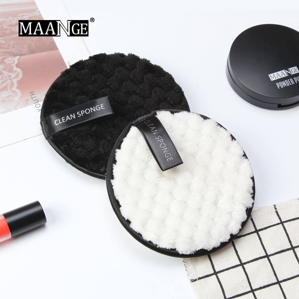 Microfiber Cloth Pads Remover Face Cleansing Towel Reusable Cleansing Makeup Sponge Double Layer Nail Art Cleaning Wipe Tools 1