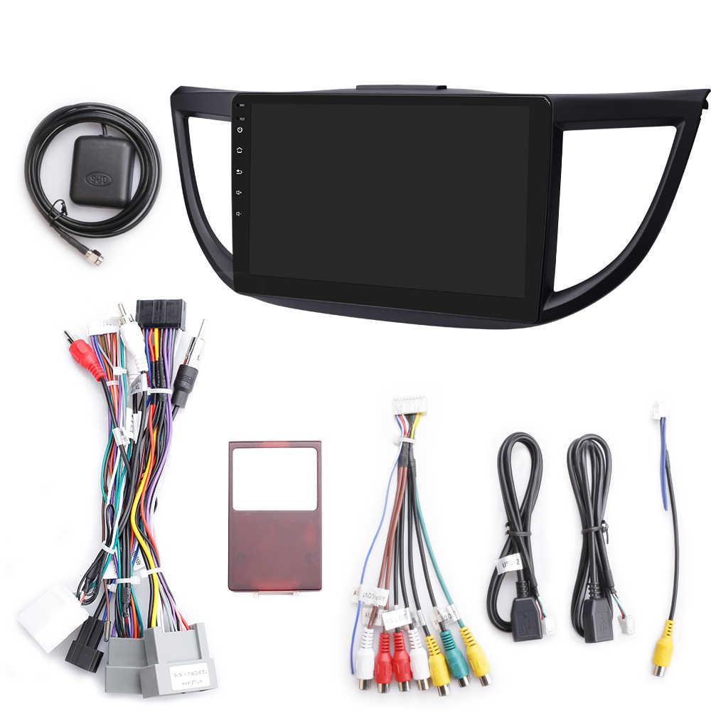 ISUDAR Radio del coche para HONDA/CRV/CR-V 2012-2016 2 din Android 9 Autoradio Multimedia Cámara DVR con GPS RAM 2GB ROM 32GB Radio USB IPS