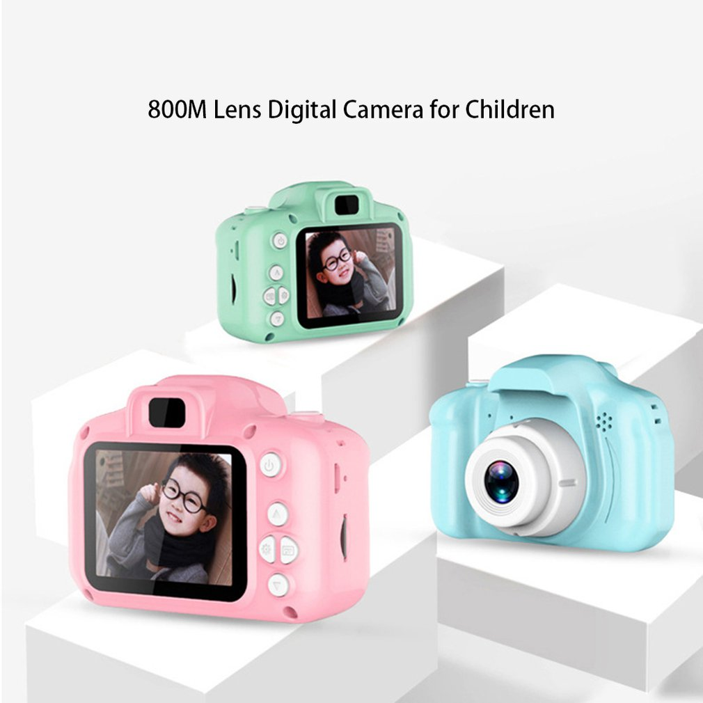 C5 Children'S Camera Hd Screen Chargable Digital Mini Camera Kids Cute Camera Toy Outdoor Photography Props Best Gifts For Fun