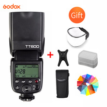 цена на Godox TT600 2.4G Wireless GN60 Master/Slave Camera Flash Speedlite for Canon Nikon Pentax Olympus Fujifilm