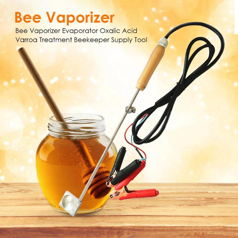 1 Set Bee Vaporizer 12V Bee Evaporator Oxalic Acid Vaporiser Varroa Treatment Beekeeping Supplies Tools Beekeeper Dropshipping