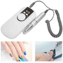 Nail-Drill-Machine 35000-Rpm Manicure-Tool Electric Rechargeable