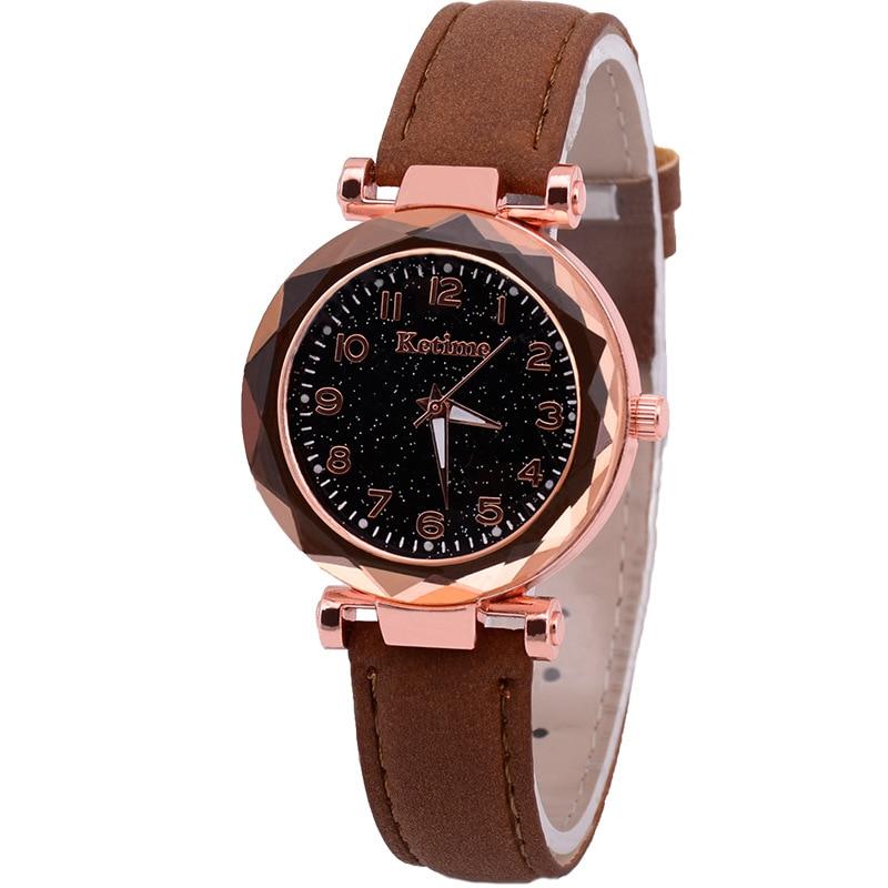 Brown no bracelet