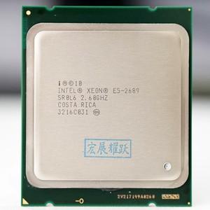 Image 2 - 인텔 제온 프로세서 E5 2689 E5 2689 CPU 2.6 LGA 2011 SROL6 데스크탑 프로세서 8 코어 CPU 100% 정상 작동