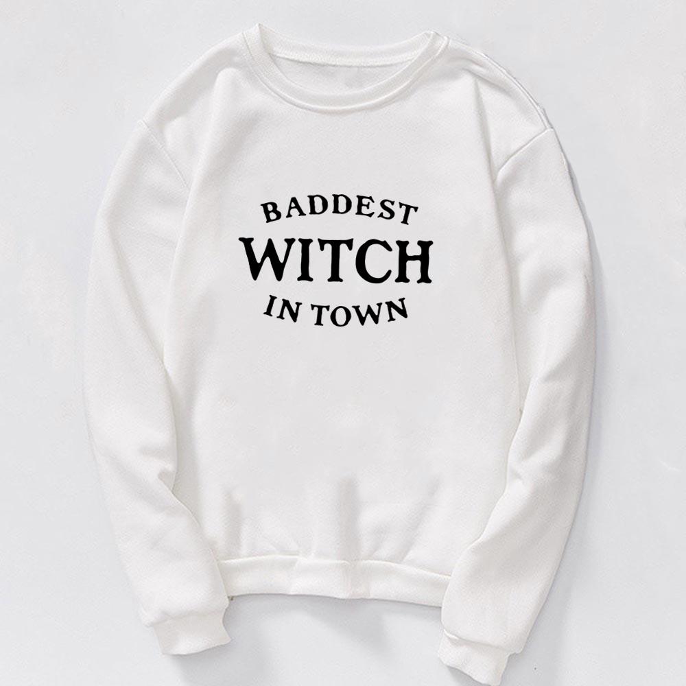 Sweat Baddest Witch sorcière Créer Son T Shirt