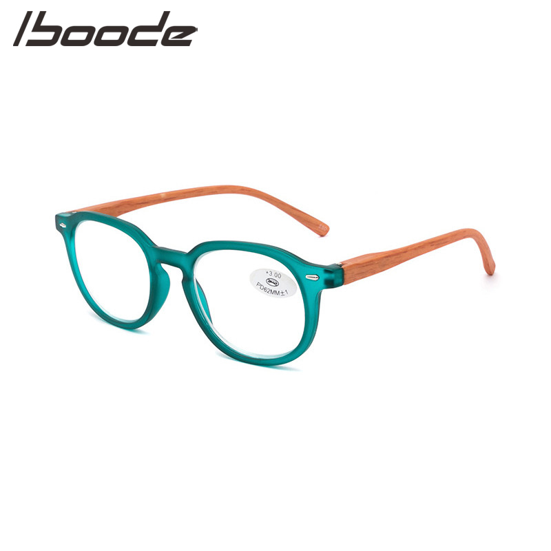 IBOODE Fashion Reading Glasses Women Men Square Presbyopic Eyeglasses Unisex Ultra-light Hyperopia Eyewear Diopter Spectacles