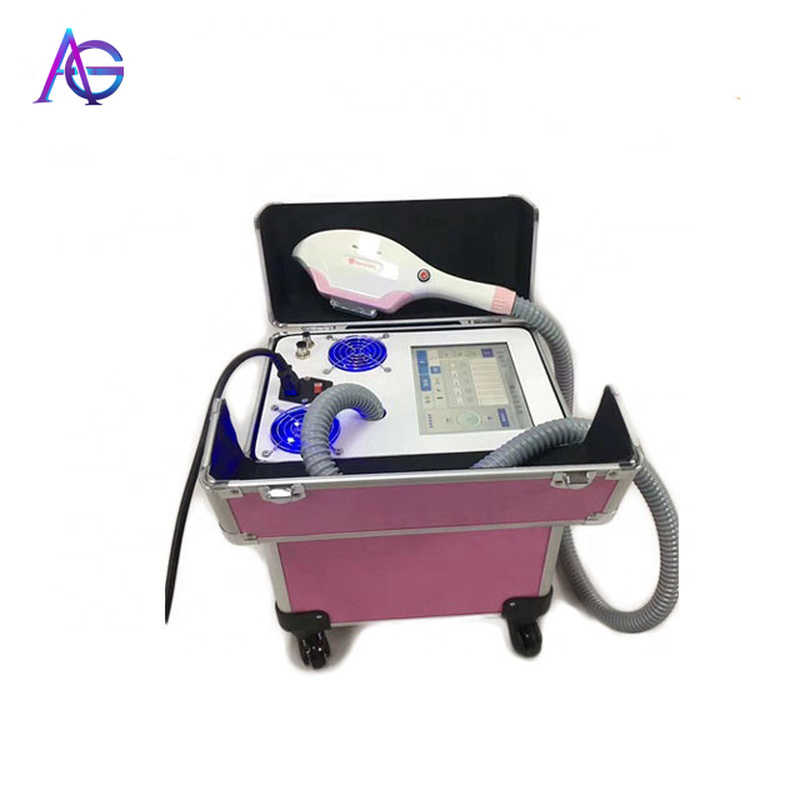 Portable 360 Mahandle Gnetic Ipl Hair Removal  Machine