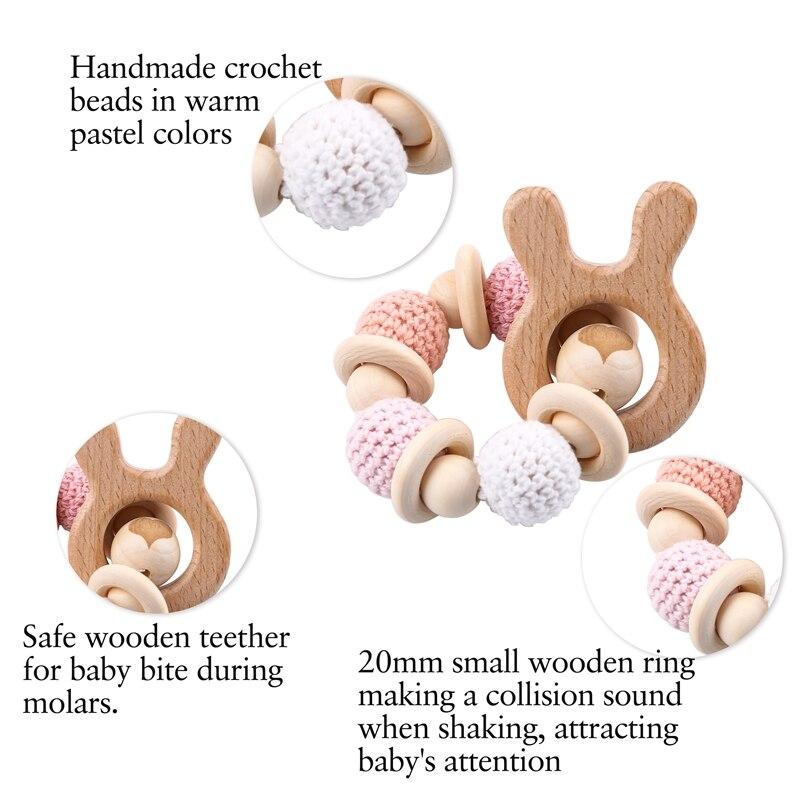 Napravimo 1kom drvene zube za ježeve kukičane kuglice drveni obrt - Igračke za bebe i malu djecu - Foto 3