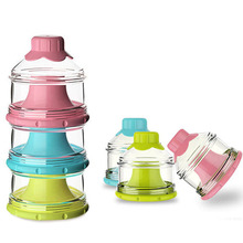 Container Milk-Powder-Box Snacks Baby Food-Storage-Box Essential-Cereal Candy-Color Toddler