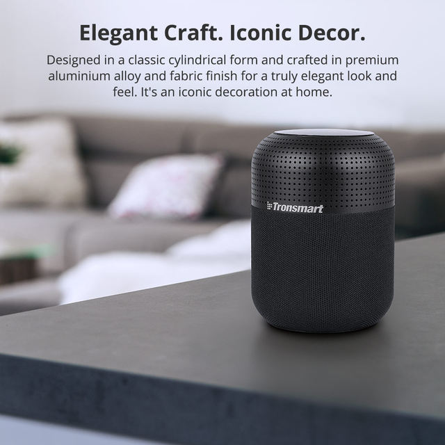 Tronsmart T6 Max Bluetooth Speaker 60W Home Theater Speakers TWS Bluetooth Column with Voice Assistant, IPX5, NFC, 20H Play time (16)