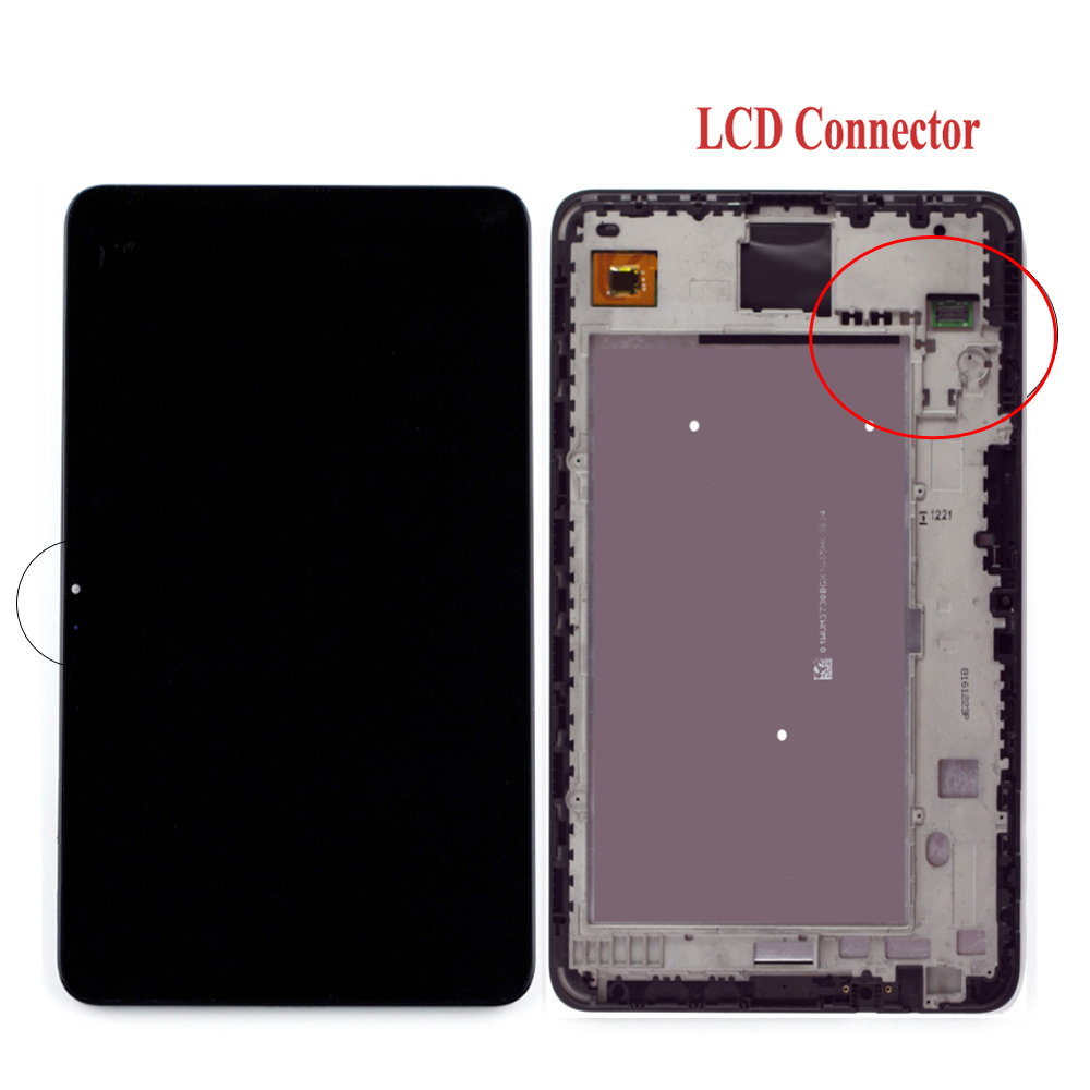 LCD LED Touch Screen Digitizer Assembly with Frame For ASUS Memo Pad 7 ME176C