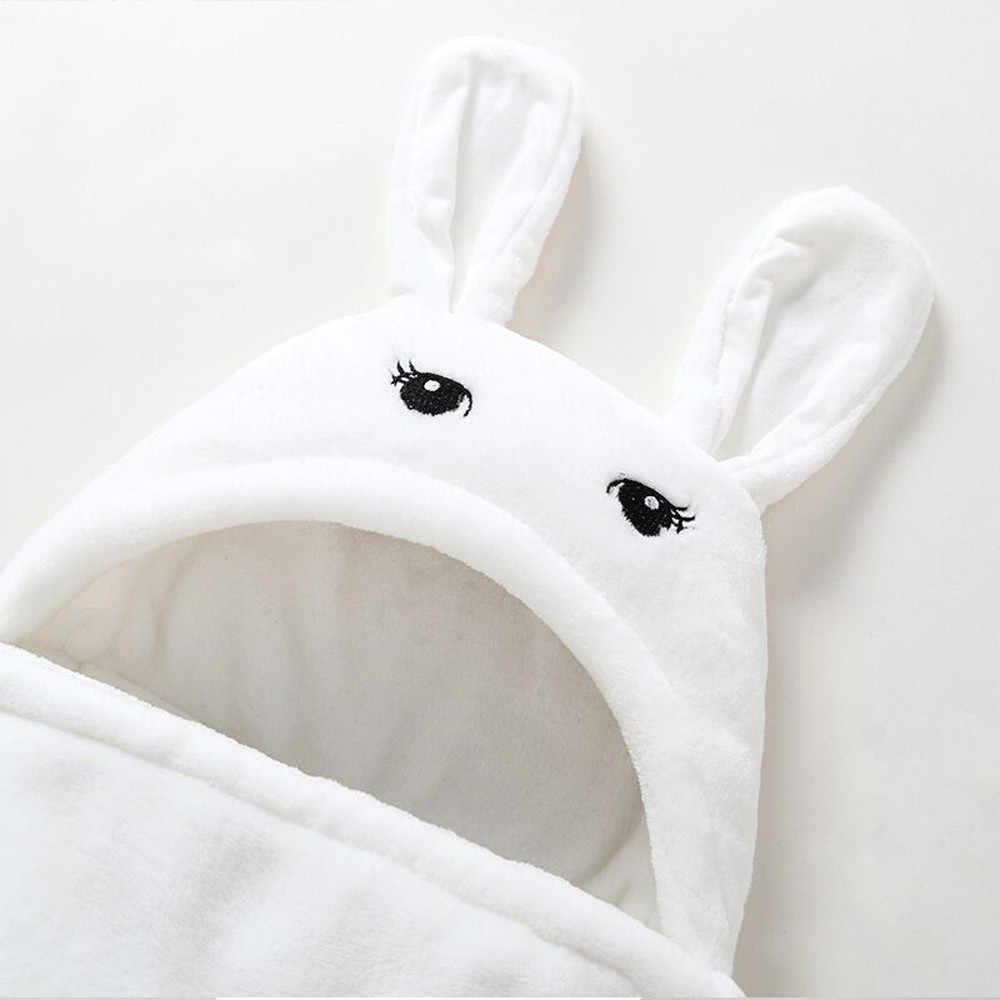 Toalla de baño con capucha para bebé con forma bonita, manta de lana para bebé, manta de recepción, para niños, baño infantil K30