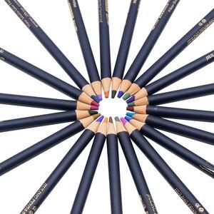 Акварельные карандаши, художественная железная коробка, цветные карандаши 24, 36, 48, 72 цвета, lapis de cor, профессиональные карандаши для рисования...