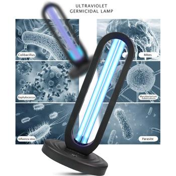HOME UV 99% Ozone Sterilization LED Lamp UV-C Sanitizer Integrated Ultraviolet Germicidal Lamp With Quartz Tube Disinfection