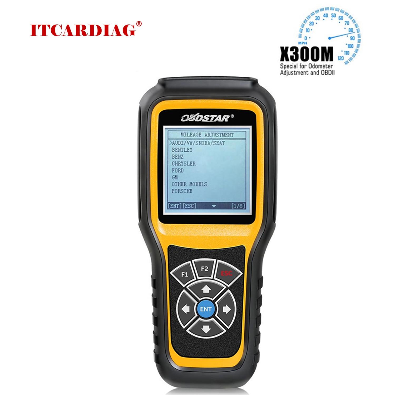 OBDSTAR X300M korekta licznika OBD2 specjalna do regulacji licznika kilometrów i obsługa OBDII Mercedes Benz i MQB funkcja VAG KM