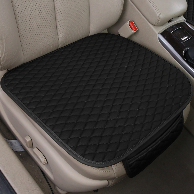 Pu Leather Car Seat Cover Covers Car Seat Protector Auto for Toyota RAV4 <font><b>Rav</b></font> <font><b>4</b></font> <font><b>2004</b></font> 2008 2013 Sienna Tacoma Tercel Cushion Pad image