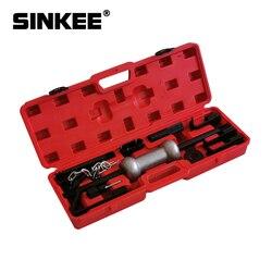 Juego de extractor de abolladuras de 10 libras, Tobogán de acero resistente, martillo, tirador, herramientas de garaje para la mayoría de coches y camiones SK1452