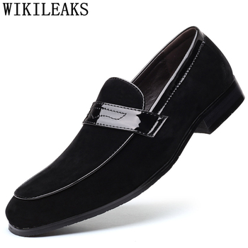Coiffeur Classic Shoes Men Italian for 2020 Luxury Brown Dress Brand Loafers Formal Big Size - discount item  52% OFF Men's Shoes