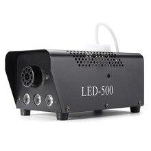 500W Rook Fog Machine Voor Stage Projectie Sfeer Lamp Dj Bar Projector Effect Lantaarn Accessoires Party Club Verlichting