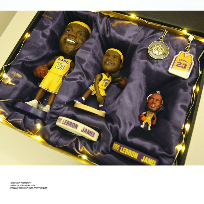 James Bryant Curry Harden Basketball Related Products Star Model Garage Kit Doll Birthday Gift Send BOY'S