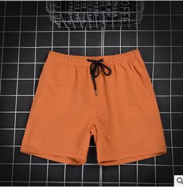 GG2 Pants 2018 New Summer Pure Color Baggy Five-minute Pants Young Men's Shorts Beach Pants