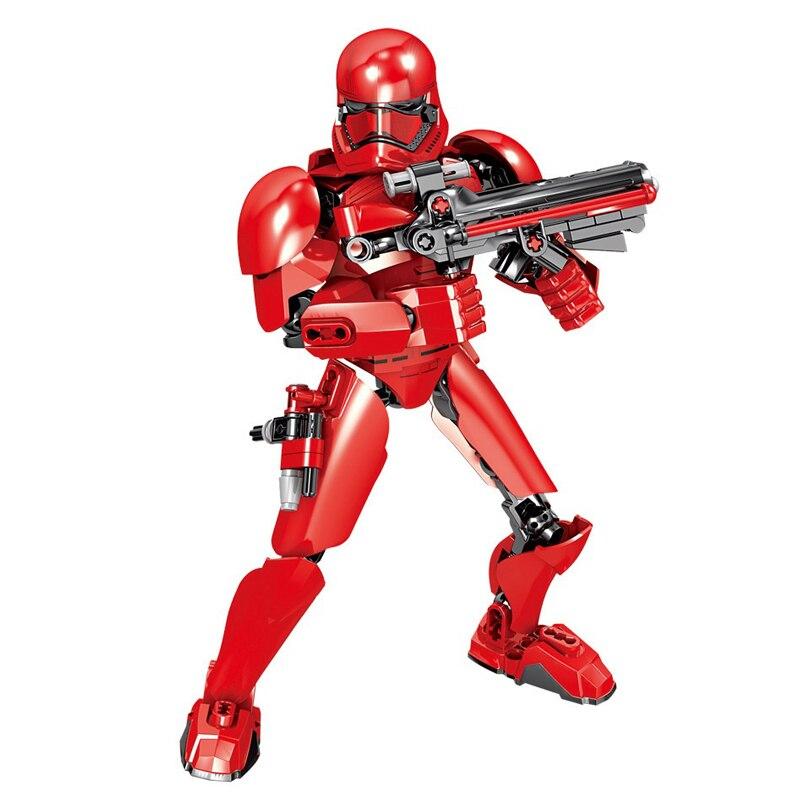 Star Wars Boba Fett Darth Maul Kylo Stormtrooper Phasma Ren Rey Vader Model Assemble Figure Construction Toys For Children 15
