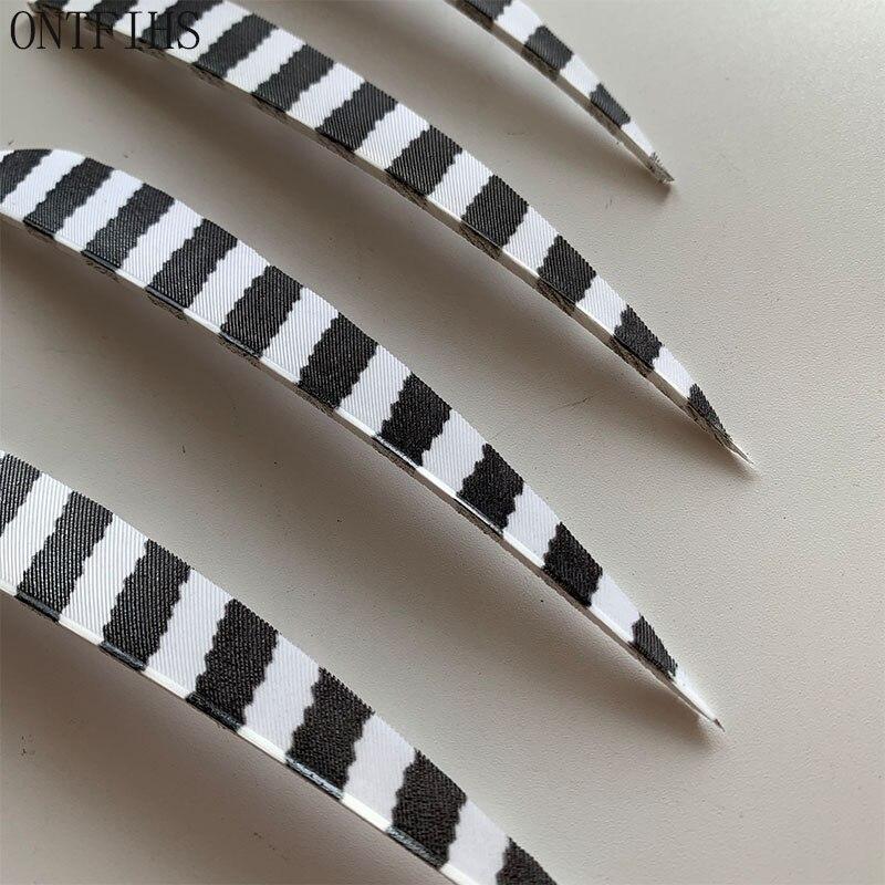 listrado turquia pena seta acessórios fleching penas ft50