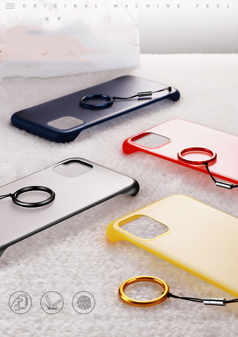 Frameless Slim Matte Hard Back Cases for iPhone 11/11 Pro/11 Pro Max 32