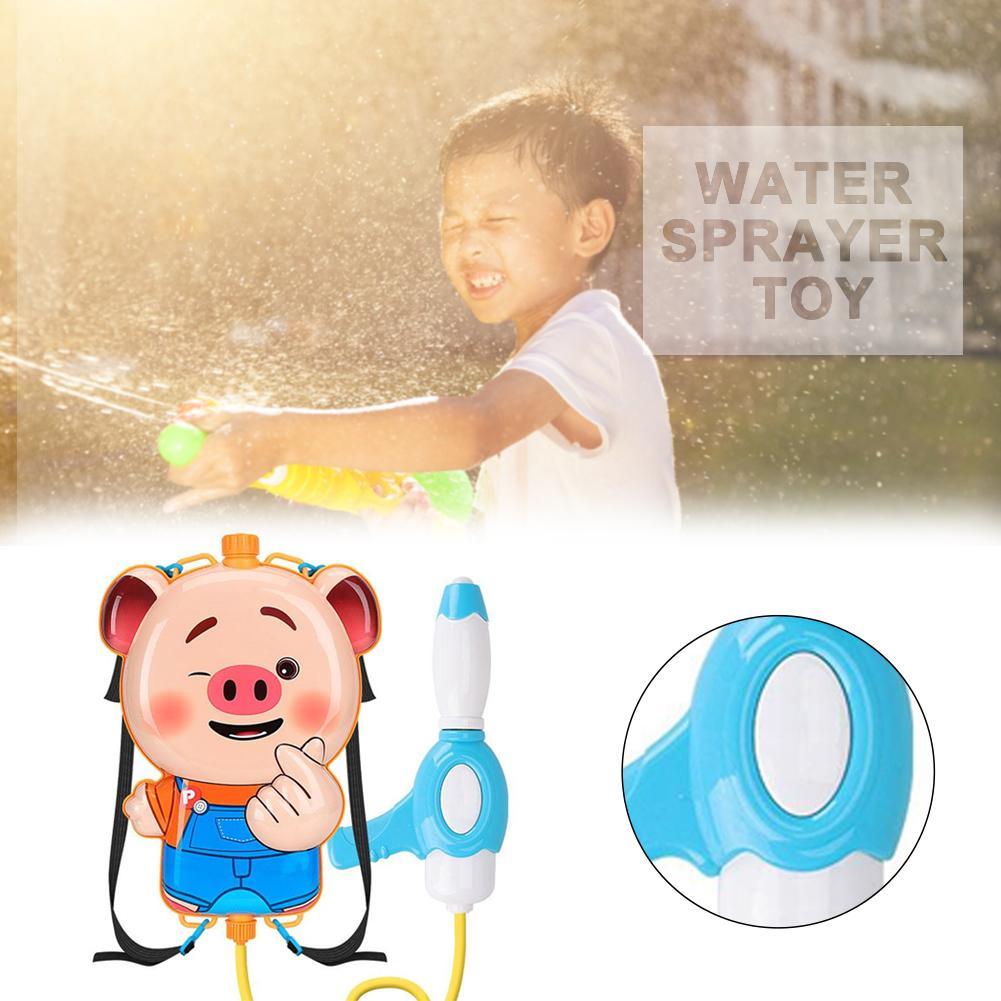 cheapest Transparant Squirt Water Gun Mini Summer Children Fight Beach Kids Blaster Toy Pistol Summer Outdoor Toys