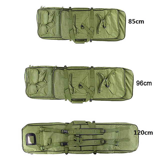 Military 85 96 100 120cm Rifle Backpack Gun Bag Case Double Rifle Airsoft Bag Shoulder Outdoor protable Hunting Accessories pack 2