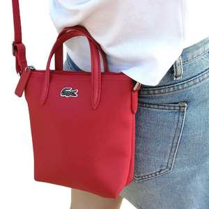Crocodile Brand S Size Tote Bag French Female Shoulder Bags Portable Commuter Red Blue Black Small Crossbody Bag