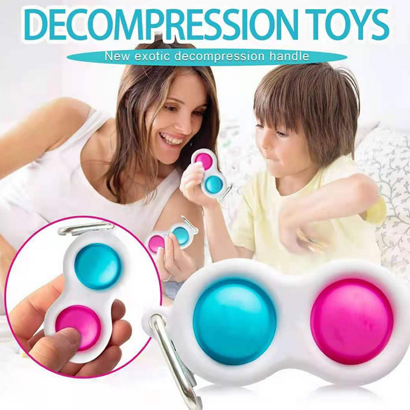 Baby Toy Fidget Simple Dimple Toy Fat Brain Toys Stress Relief Hand Fidget Toy Kids Adults Early Educational Autism Special Need img4