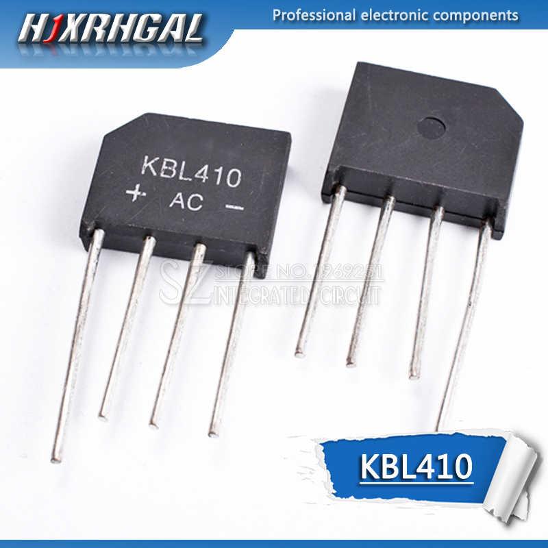 1 stücke KBL410 KBL-410 4A 1000V brückengleichrichter Einzelnen Phasen Diode