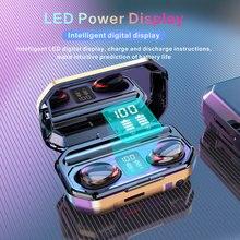 Słuchawki słuchawki z Bluetooth bezprzewodowe z mikrofonem Sport Gaming naprawdę w zestaw słuchawkowy Tws 3D Stereo wodoodporna redukcja szumów
