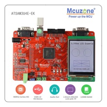 ATSAM3U4E-EK Board, 96Mhz Cortex-M3, usb 2.0 Highspeed 2.8 Tft Lcd Touch Screen SAM3U Atmel Arm ATSAM3U SAM3U4E Microchip