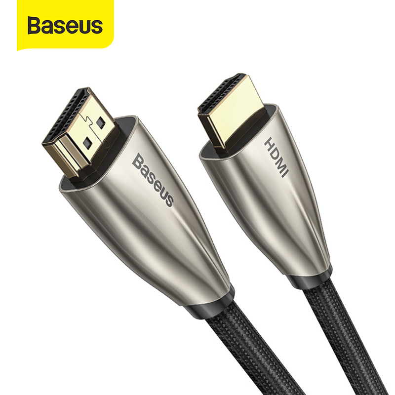 Baseus HDMI Cable 4K HDMI To HDMI Cable For Apple TV Switch Splitter 60Hz HDMI 2.0 Cable For TV Box Audio Vedio Cable Cord