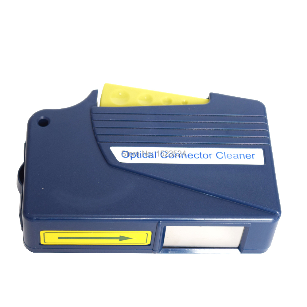 Blue Color Fiber Optic Connector Cleaner Cleaning Cassettes Cassette Cleaner Fiber Optic Cleaner 500 Cleans