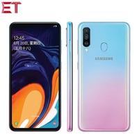 Brand New Samsung Galaxy A60 Mobile Phone 6.3 6G RAM 64GB/128GB ROM Snapdragon 675 Octa Core 32.0MP+8MP+5MP Rear Camera Phone