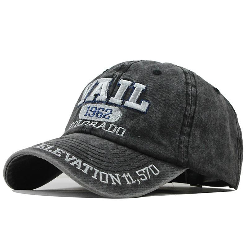 Washed Cotton Women Baseball Cap Summer Embroidery Hat Men Trucker Hat Adjustable Casual Cap Unisex Spring Autumn Bonnets