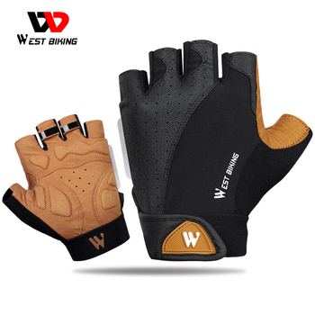 WEST BIKING Summer Cycling Gloves MTB Mountain Road Bike Half Finger Gloves Men Women Bicycle Gym Fitness Non-slip Sports Gloves boodun summer cycling gloves half finger sports luvas guantes ciclismo road mountain bikes mtb bicycle wrist gloves men women