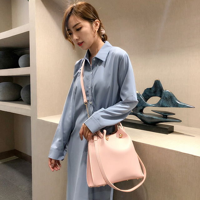 Fashion Women Handbag pu Leather Women Shoulder Bags  Famous Brand Designer Women Bags Ladies Casual sac a main 4