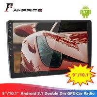 AMPrime 2din Android Car Radio Autoradio 9/10.1 Android Car Multimedia Player GPS Wifi No DVD Mirrorlink Tape Recorder Radios