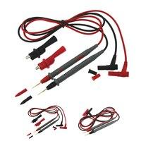 Pin de prueba para multímetro Digital, Cable de lápiz de sonda de plomo, 10A, 1000V, multímetro de punta de aguja