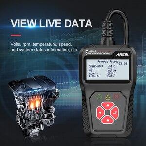 Image 3 - Ancel AS100 Obd2 سيارة أداة تشخيص OBD 2 السيارات الماسح الضوئي محرك محلل أداة رمز القارئ Obdii أداة مسح ضوئي PK ELM327 v1.5