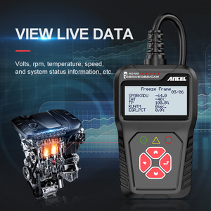 Image 3 - Ancel AS100 Obd2車診断ツールobd 2自動車スキャナエンジンアナライザツールコードリーダーobdiiスキャンツールpk ELM327 v1.5