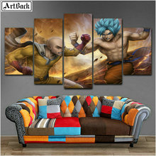 5d full square &round diamond painting portrait fight five decorative cartoon mosaic crafts